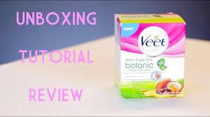 veet warm sugar wax review tutorial