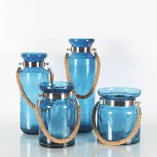 decorative glass vases with hand held