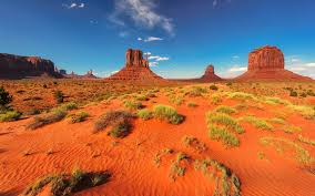 Oljato Monument Valley Arizona United States Of America Sunset In Red Desert Landscape Foto Ultra Hd Wallpapers For Desktop 3840x2400 Wallpapers13 Com