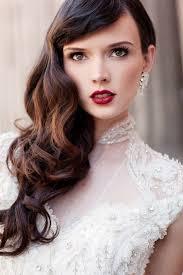 bridal beauty bold wedding makeup