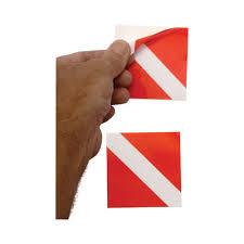 Innovative Vinyl Dive Flag Window Sticker