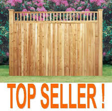 Cedar Wood Fence Prices 6x8 Wood Fence Panels Fence Panels 6ft 7ft 8ft Wholesale Panels