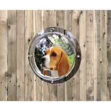 Pet Fence Dome Peek Bubble Window For Dogs For Dogs See Outside Anxiety Bark Reliever Durable Acrylic Plastic With Instructions And Hardware Walmart Com Walmart Com