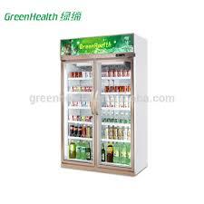 glass door display chiller freezer case