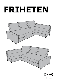 friheten corner sofa bed ikea united