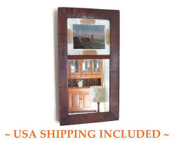 antique 1840s wall mirror empire ogee
