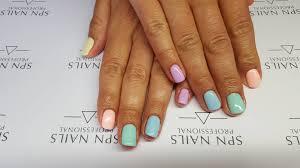 Pastelowy Manicure Hybrydami Semilac Trick Jak Przerobic Kolor