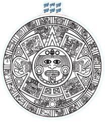 Shopaztecs Extra Large Aztec Calendar Decal