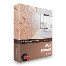 cgaxis wall panels 3d models