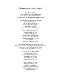 Ed sheeran – perfect lyrics by Elvina Nadira - issuu