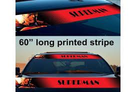 60 Superman Kent Superhero Comic Strip Printed Windshield Vinyl Sticker Decal Geek