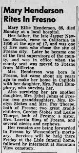 Mary Musick Henderson Obituary - Newspapers.com