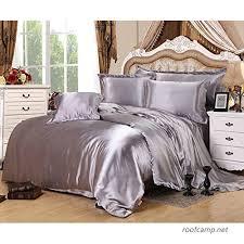 luxury 4 piece satin sateen silky bed