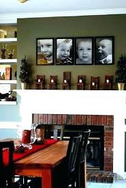 wall decor for above fireplace decor