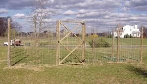 Deer Fence Gate Deer Fence Fence Agricultural Fencing