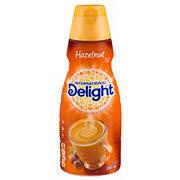 international delight hazelnut liquid