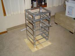 the homemade server rack project