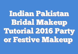 bridal makeup tutorial 2016 party