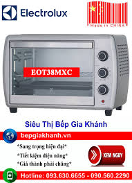 Lò nướng để bàn Electrolux EOT38MXC sản xuất Trung Quốc, lò nướng, lò nướng  điện, lò nướng điện đa năng, lò nướng mini, lò nướng bánh, lò nướng lock  and lock, lo