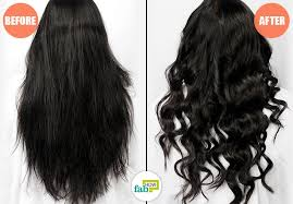 curl your hair with and without heat