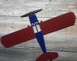Hanging Airplane Etsy