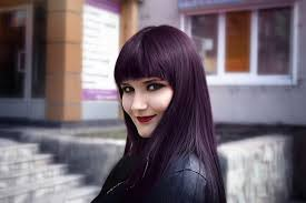 dye your hair purple without bleach