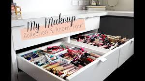 my makeup room tour makeup