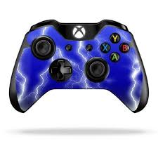 Protective Vinyl Skin Decal Cover For Microsoft Xbox One One S Controller Wrap Sticker Skins Lightning Storm Read Xbox One Bundle Xbox One Console Xbox One