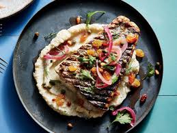 Pan-Grilled Mackerel with Creamy Millet ...