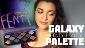 fenty beauty galaxy palette first