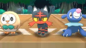 Pokémon Sun And Moon - Episode 1: Rowlet, Litten, and Popplio ...