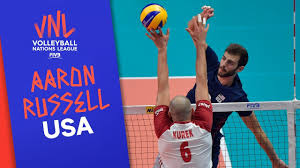 Aaron Russell & Team USA are ready for the competition   VNL Stars    Volleyball Nations League 2019 - YouTube