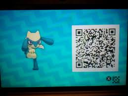 My cousin caught a Shiny Riolu, then, I scanned the QR Code! Now ...
