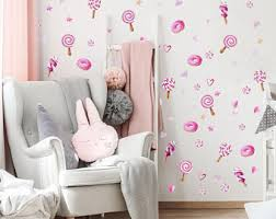 Lollipop Wall Decals Etsy