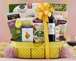 wine country gift baskets easter baskets