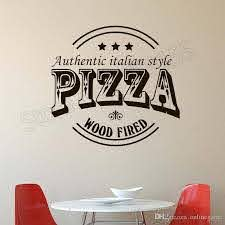 Wall Decal Creative Pizza Restaurant Wall Stickers Pizza Shop Window Logo Decor Kitchen Food Removable Design Decor Stickers For Decorating Walls Stickers For Home From Onlinegame 12 48 Dhgate Com
