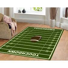 Dalyn Rug All Stars Football Ground Kids Rug Walmart Com Kids Area Rugs Kids Rugs Sports Themed Room