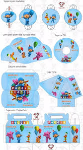 Kit Imprimible Pocoyo Candy Bar Invitaciones Cumpleanos 39