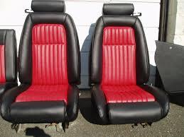 new dream cars mustang seats