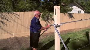 Bracing Routed Vinyl Posts Diy Fence Vinyl Fencing Projects Part 3 Of 5 Youtube