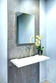 bathroom vanity mirror powder room