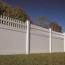 Freedom Wakefield 6 Ft H X 8 Ft W White Vinyl Fence Panel Lowes Com In 2020 White Vinyl Fence Vinyl Fence Fence Panels