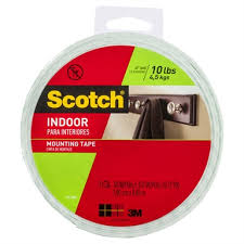scotch 19mm x 8 8m indoor double sided