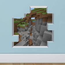 Minecraft Cartoon Game 3d Wall Sticker F Buy Online In Monaco At Desertcart