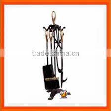 modern cast iron fireplace tool set