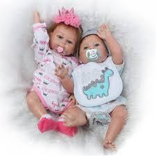 reborn toddler twins cute baby doll set