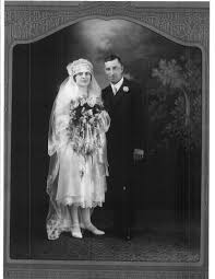 Wedding Portrait of Frederick Thomas Jackson and Martha Henrietta ...