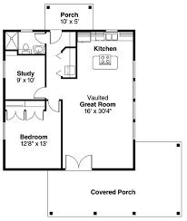 960 sq ft house plan coastal log