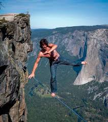 Daredevils on the cliffs of Yosemite Park   Languages ...