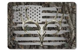 Alabama Drake Duck Skull Bones Camo Cooler Lid Skin Decal Firehouse Graphics